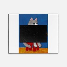 Cat on Guitar Picture Frame
