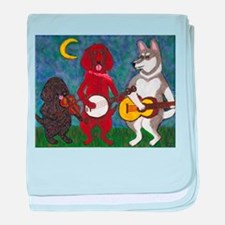 Country Dogs baby blanket