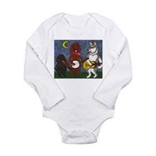 Country Dogs Long Sleeve Infant Bodysuit