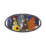 Jazz Cats Patches