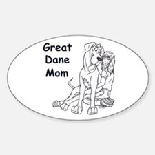N GD Mom Oval Decal