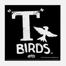 T Birds Tile Coaster