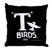 T Birds Throw Pillow