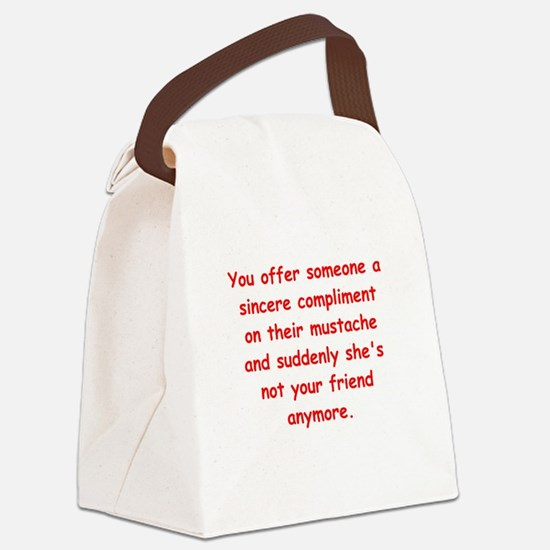 SILLY Canvas Lunch Bag