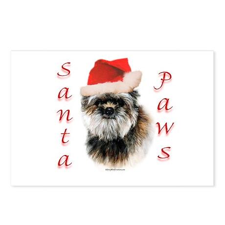 Affenpinscher Paws Postcards (Package of 8)
