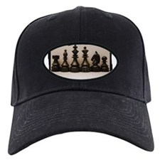 blackchesslineupsepiaframe.jpg Baseball Hat