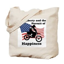 Motocross Happiness Tote Bag