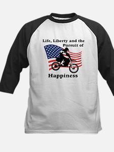 Motocross Happiness Kids Baseball Jersey