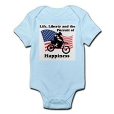 Motocross Happiness Infant Creeper