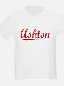 Ashton, Vintage Red T-Shirt