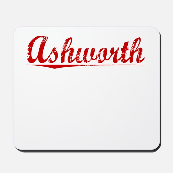 Ashworth, Vintage Red Mousepad
