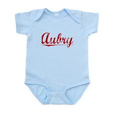 Aubry, Vintage Red Onesie