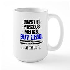 INVEST LEAD BULLETS Mug