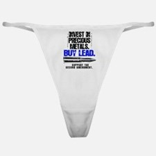 INVEST LEAD BULLETS Classic Thong