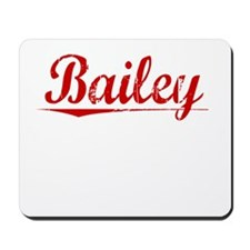 Bailey, Vintage Red Mousepad