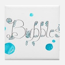Bubbles 1 Tile Coaster
