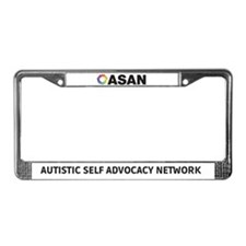 ASAN License Plate Frame