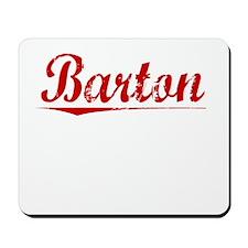 Barton, Vintage Red Mousepad