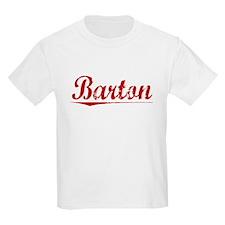 Barton, Vintage Red T-Shirt