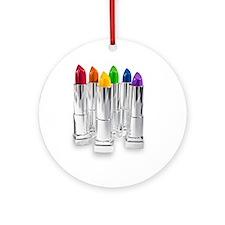 lipstick lesbian Ornament (Round)