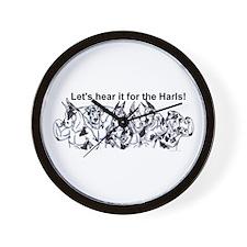 Hear It For Harls Wall Clock