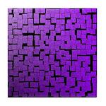 PURPLE RAIN Tile Coaster