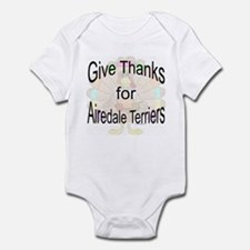 Thanks for Airedale Terrier Infant Creeper
