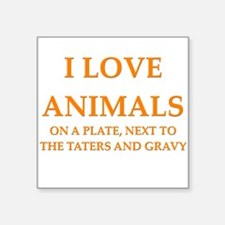 funny animals mashed potatoes gravy food joke Squa