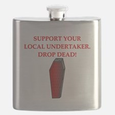 sick drop dead insult joke Flask
