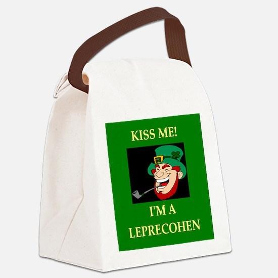 irish jewish ireland leprechaun leprecohen Canvas