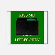irish jewish ireland leprechaun leprecohen Picture Frame