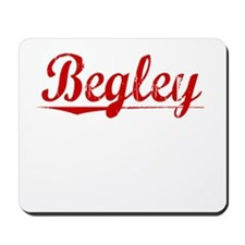 Begley, Vintage Red Mousepad