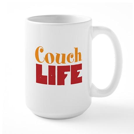Couch Life Large Mug