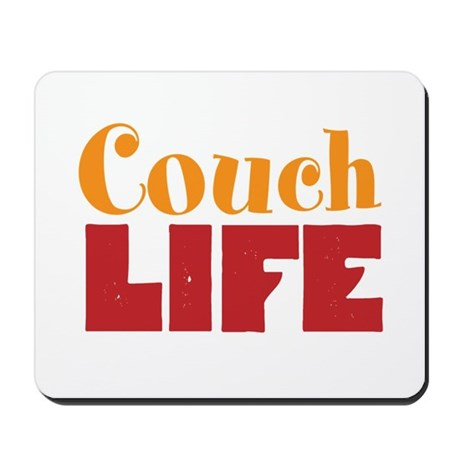 Couch Life Mousepad