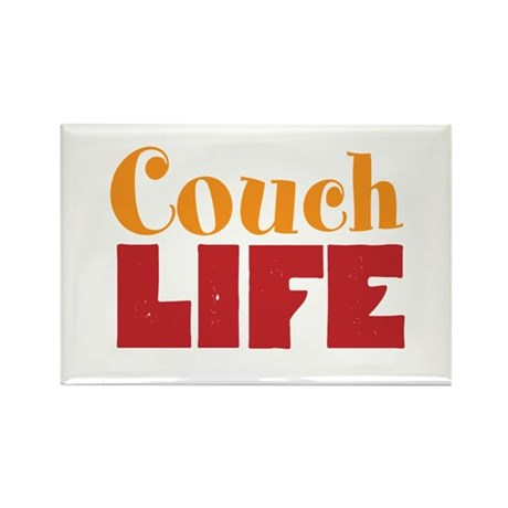 Couch Life Rectangle Magnet