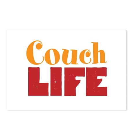 Couch Life Postcards (Package of 8)