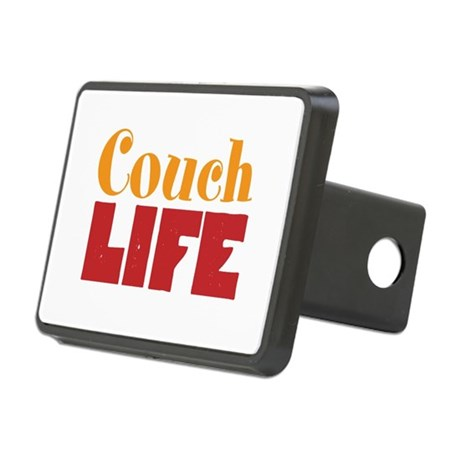 Couch Life Rectangular Hitch Cover