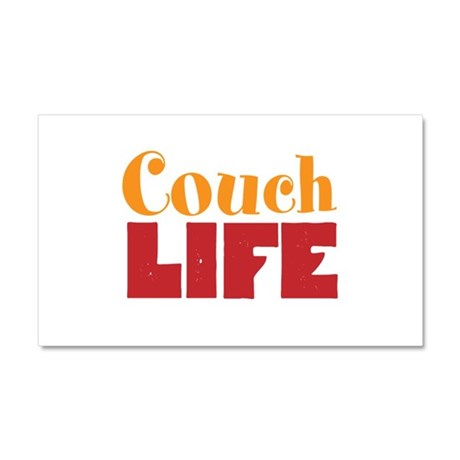 Couch Life Car Magnet 20 x 12