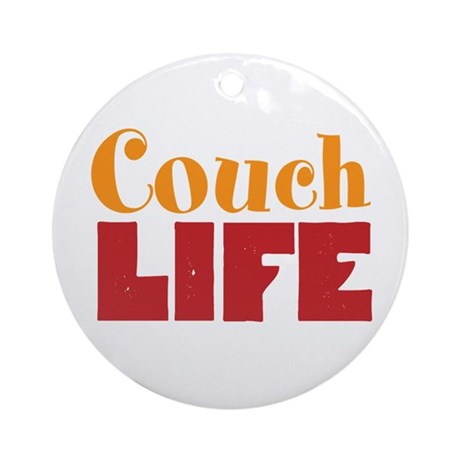 Couch Life Ornament (Round)