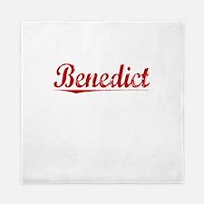 Benedict, Vintage Red Queen Duvet