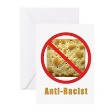 Anti-Racist 2 Greeting Cards (Pk of 10)