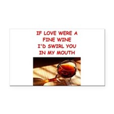 love joke gifts t-shrts Rectangle Car Magnet