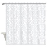 Damask shower curtain Shower Curtains