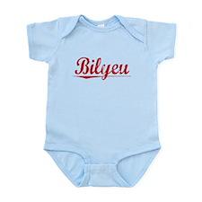 Bilyeu, Vintage Red Infant Bodysuit