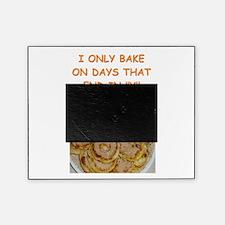 funny bake baker baking joke Picture Frame