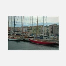 St Tropez Rectangle Magnet