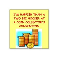 "HOOKER.png Square Sticker 3"" x 3"""