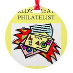 worlds greatest philatelist stamp collector Round