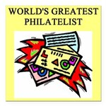 worlds greatest philatelist stamp collector Square