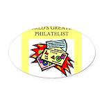 worlds greatest philatelist stamp collector Oval C